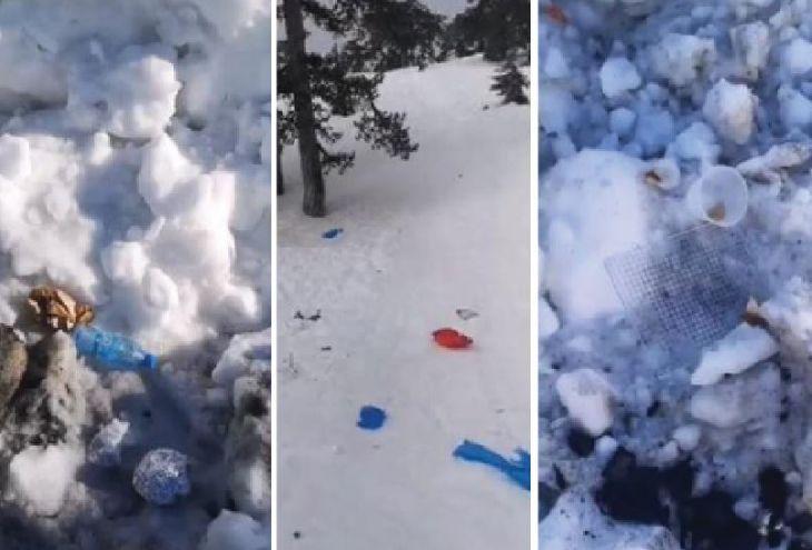 Посетители Троодоса превратили волшебные пейзажи в свалки мусора