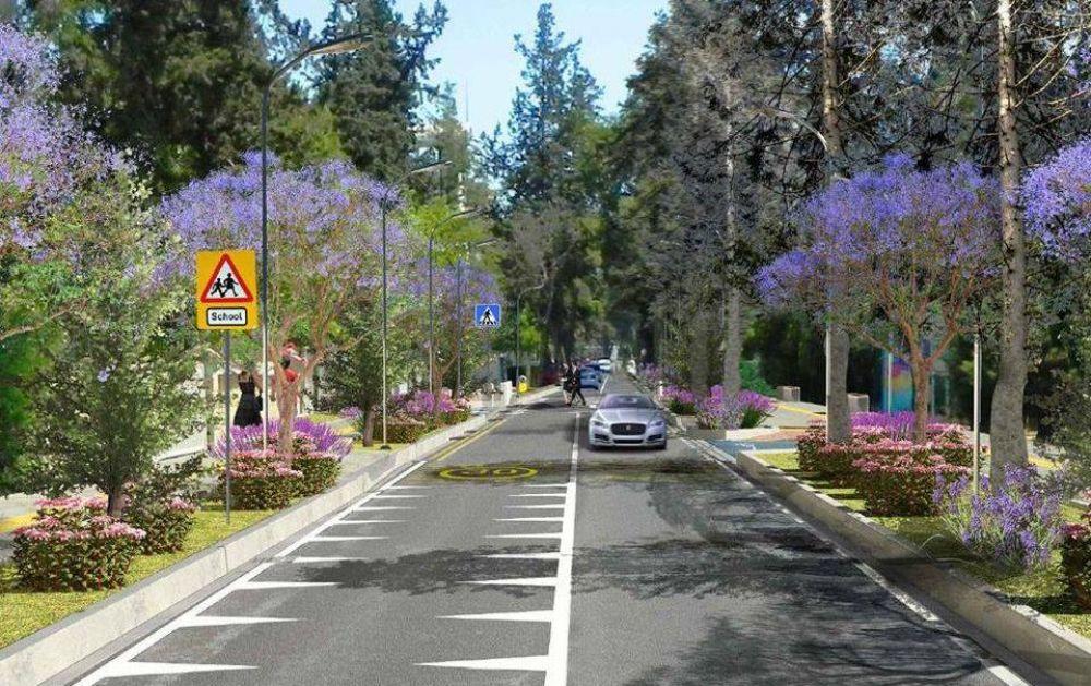 Главную улицу Никосии озеленят и отремонтируют - Вестник Кипра