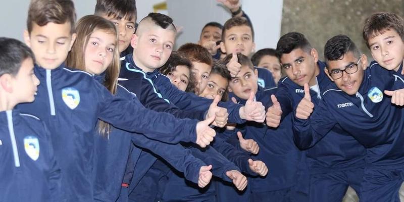 Будущие звезды футбола рождаются в Пафосе
