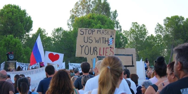 Антиковидный протест на Кипре привел к ужесточению правил проведения протестов