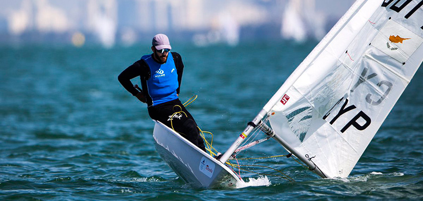Кипрский яхтсмен Павлос Контидис возглавил мировой рейтинг | CypLIVE