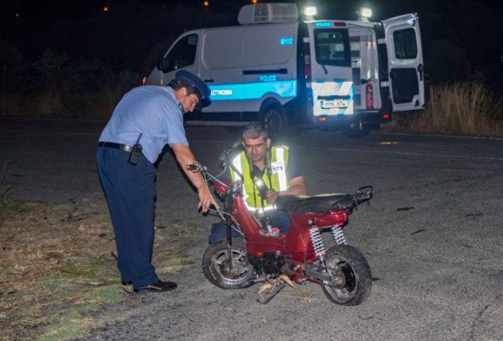 В 17-летнего парня из Эпископи врезался гоночный автомобиль