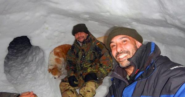 Новый Год в кемпинге в снегах Троодоса (фото)