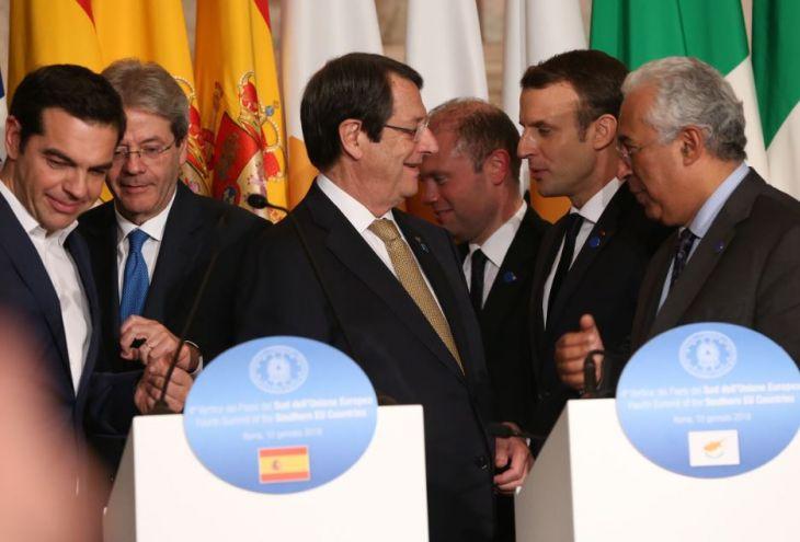 Лидеры семи стран Средиземноморья хотят поговорить с нами о будущем ЕС