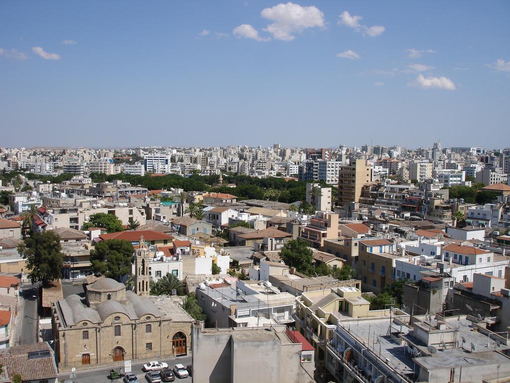 На Кипре повышен уровень пыли