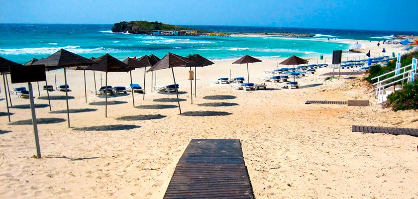 В Айя-Напе модернизируют территорию пляжа | CypLIVE