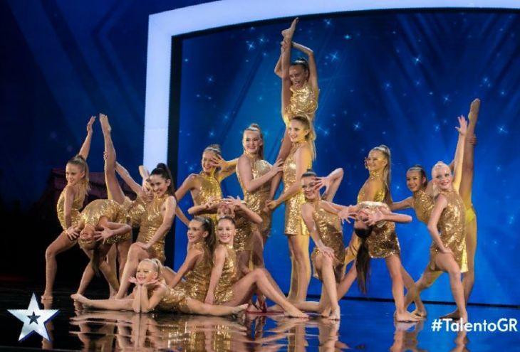 Команда юных акробаток из Киссонерги вышла в полуфинал шоу Greece's Got Talent