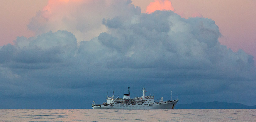 Российское исследовательское судно покинуло порт Кипра | CypLIVE