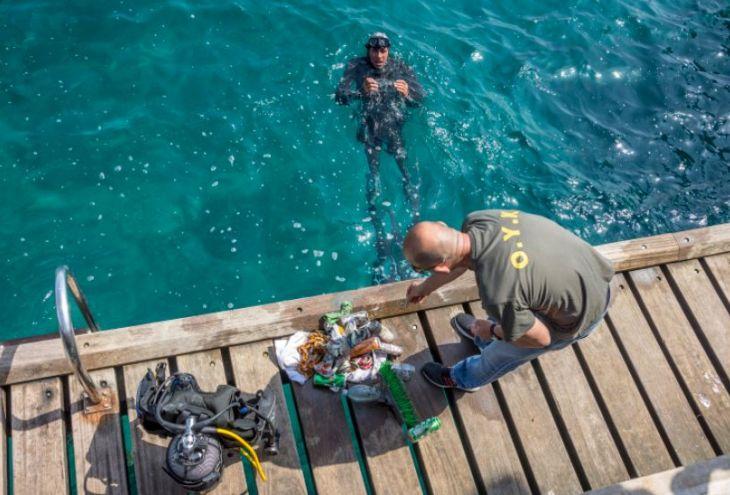 Лимассол получит 100 000 евро на очистку моря от мусора