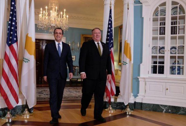 США уверяют, что поддерживают права Кипра на газ на его шельфе