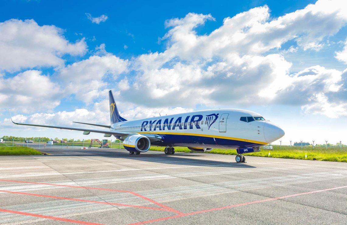 Ryanair запускает 2 новых маршрута с Кипра