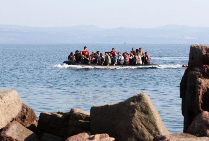 Власти деревни Като Пиргос ждут новые лодки с беженцами