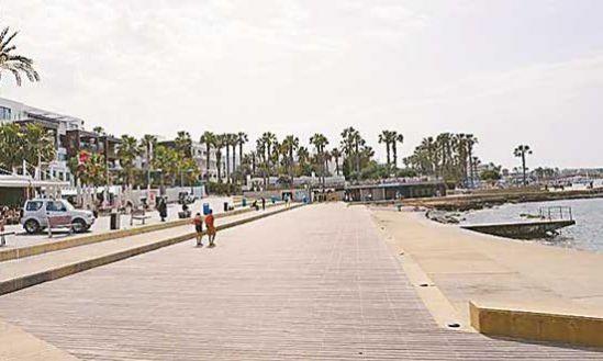 Новая набережная в Пафосе - Вестник Кипра