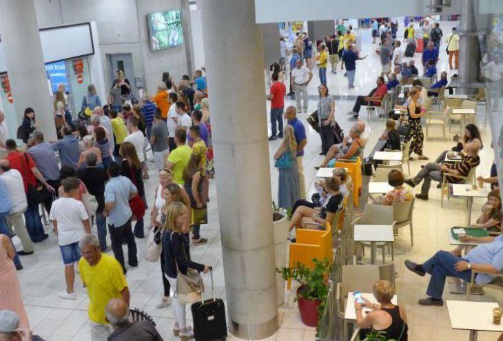 Вышла из строя информационная система аэропорта Ларнаки