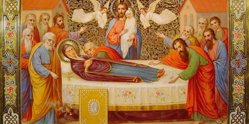 15 августа на Кипре большой праздник - день Успения Пресвятой Богородицы
