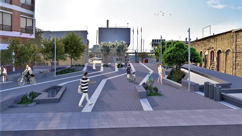 Создание новой площади в Лимассоле завершится в начале следующего года | CypLIVE