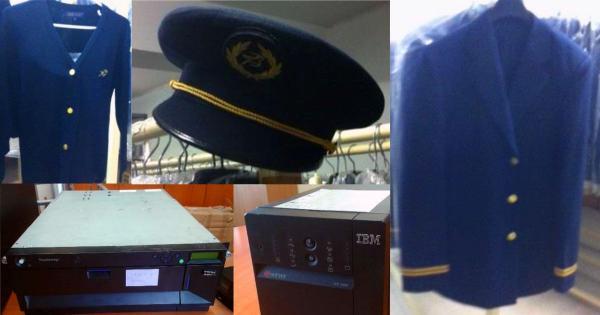 Cyprus Airways распродает все – от компьютеров IBM и стульев до униформы пилотов
