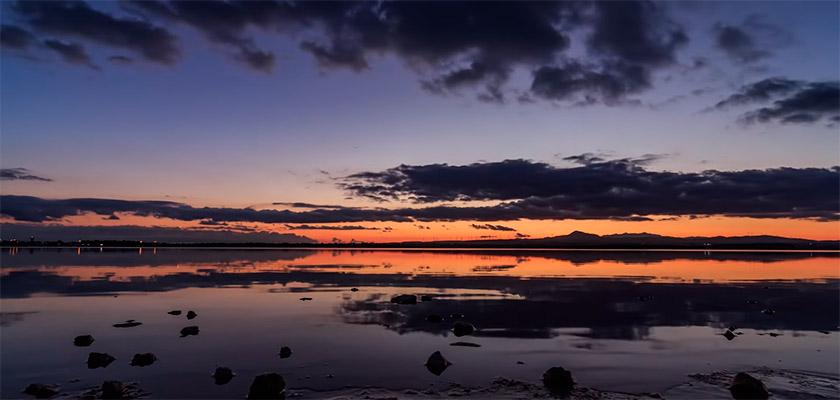 На Кипре удивительные по своей красоте закаты и рассветы | CypLIVE