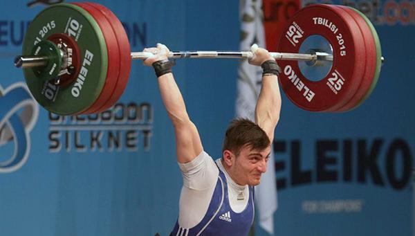 Кипрский тяжелоатлет завоевал серебряную медаль на чемпионате Европы