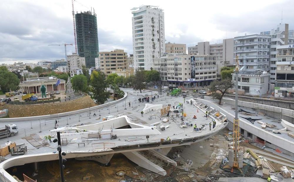 1,815 млн евро за задержку открытия площади Элефтериас - Вестник Кипра
