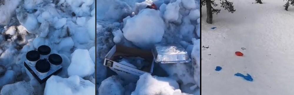 Троодос «утонул» в мусоре - Вестник Кипра