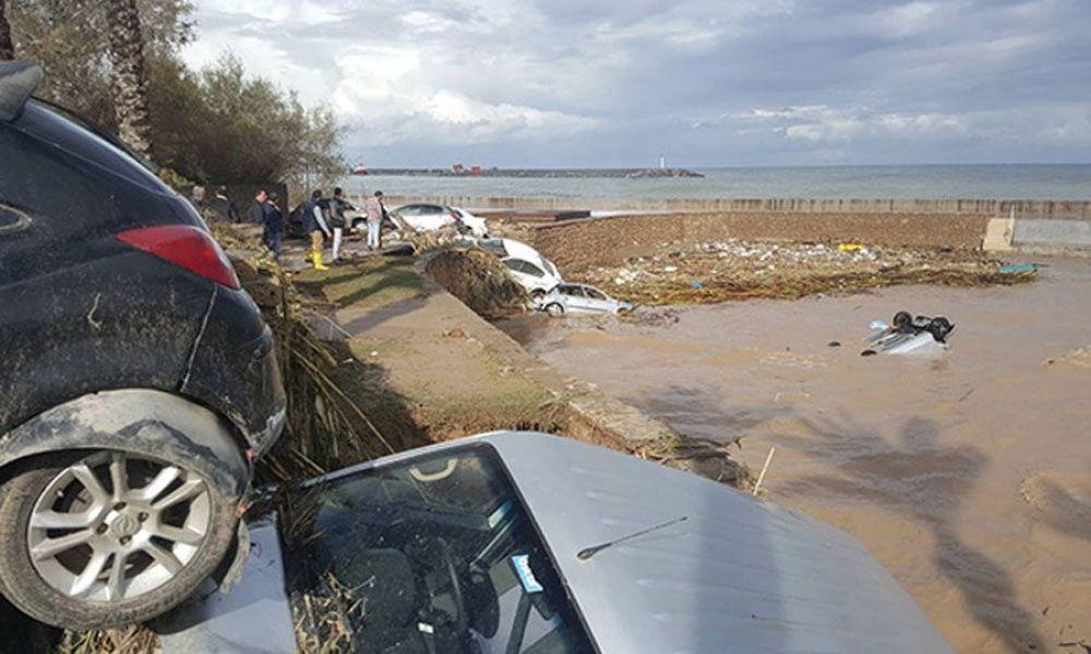 Протарас и Паралимни подсчитывают ущерб от урагана - Вестник Кипра