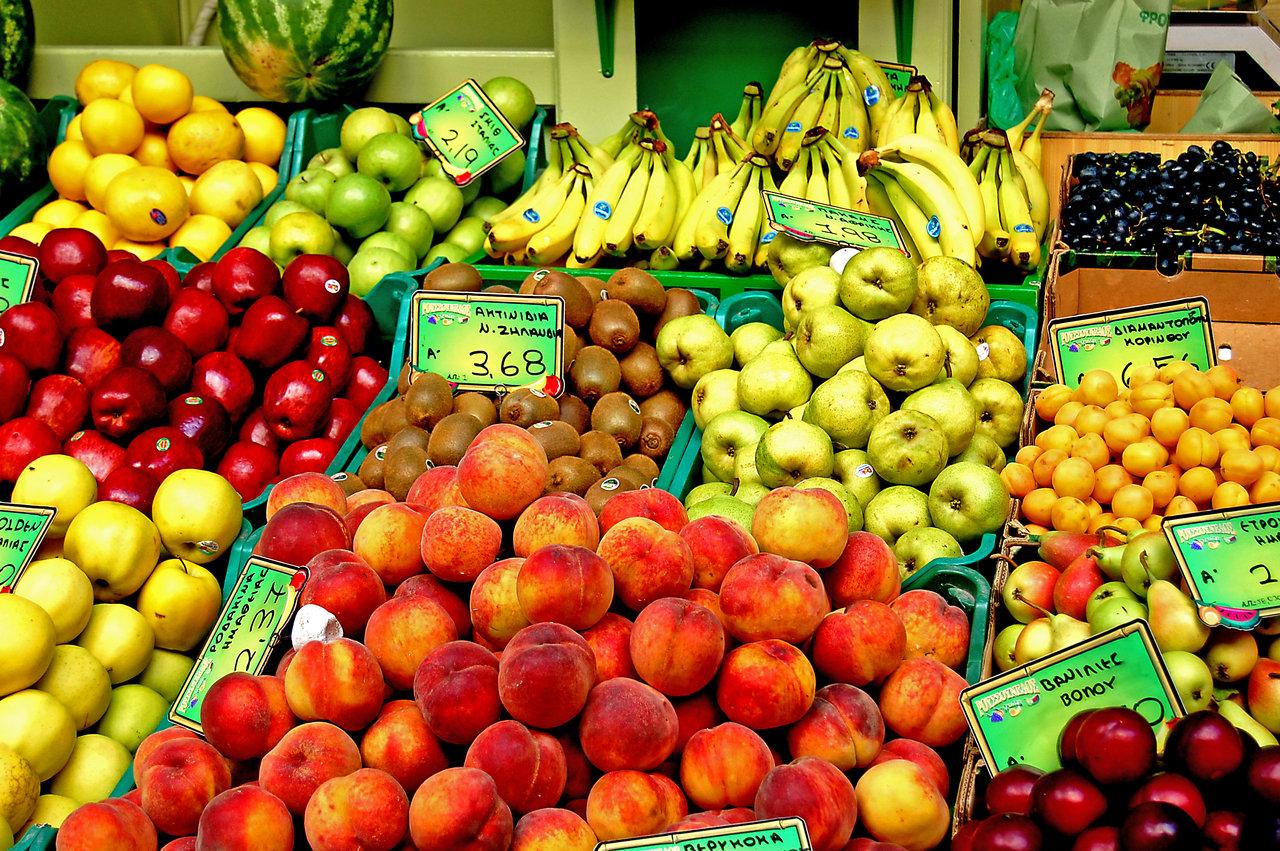 Фрукты и овощи дорожают перед Пасхой