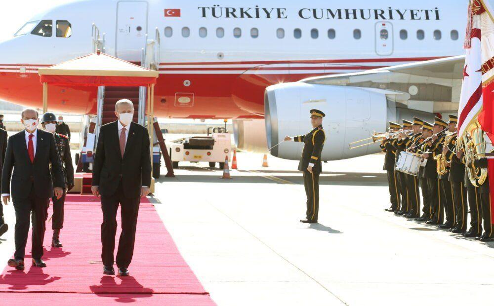 Провокационный визит турецкого президента в «ТРСК» - Вестник Кипра