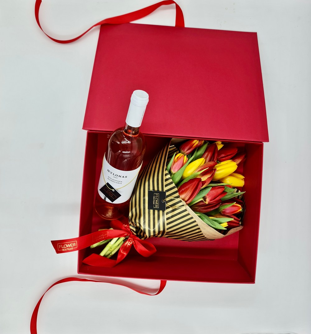 Flower Boutique & Cava: изысканные подарки на 8 марта - Вестник Кипра