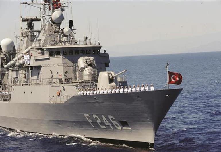 Турецкие спасательные маневры около Кирении и Фамагусты