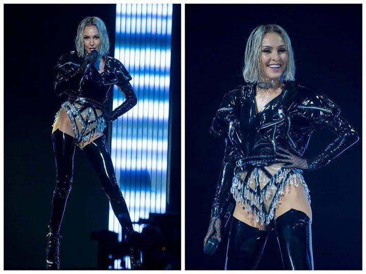Представительница Кипра выступила на Евровидении в «голом костюме»