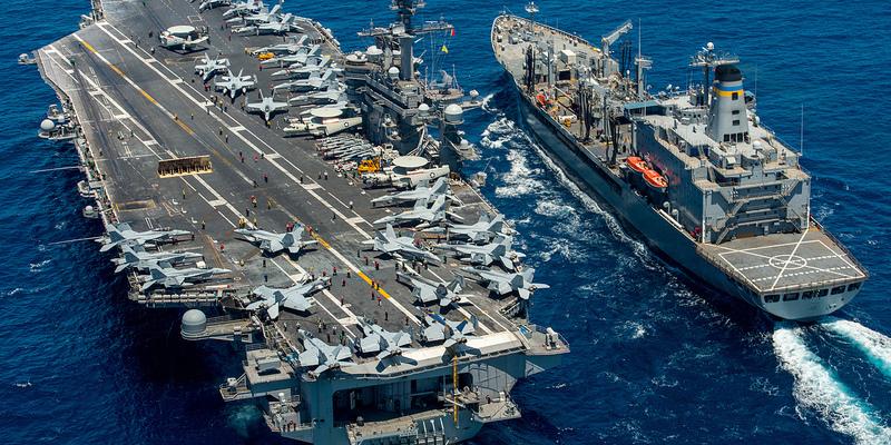Между Кипром и Критом пройдут греко-американские учения с участием атомного авианосца