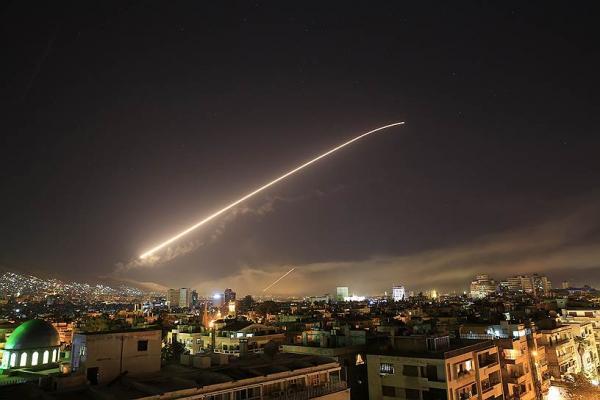 США, Великобритания и Франция нанесли удар по Сирии