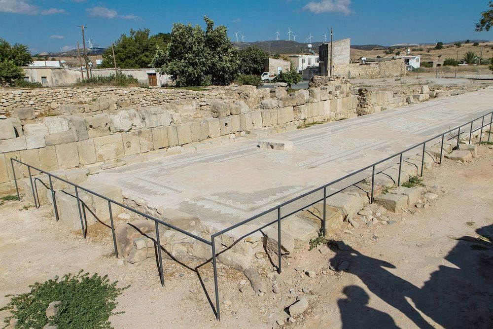 Куклия: святилище Афродиты и древние мозаики - Вестник Кипра