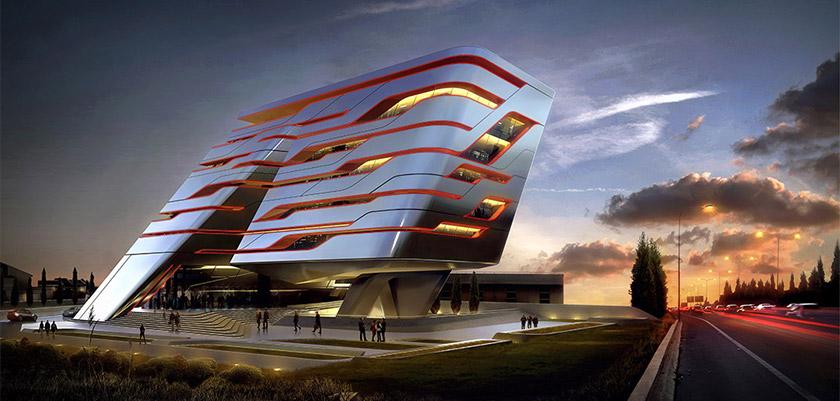 На Кипре построят необычное офисное здание | CypLIVE