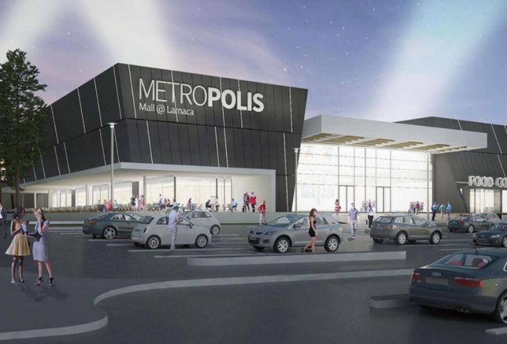 16 сентября в Ларнаке откроется Metropolis Mall