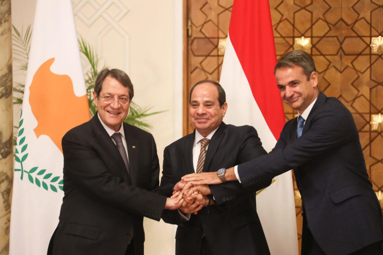 Трехсторонний саммит Кипр-Греция-Египет
