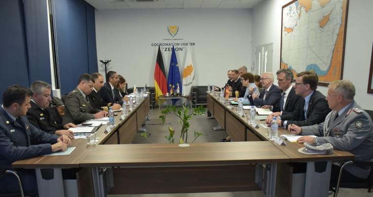 Кипр и Германия укрепляют сотрудничество