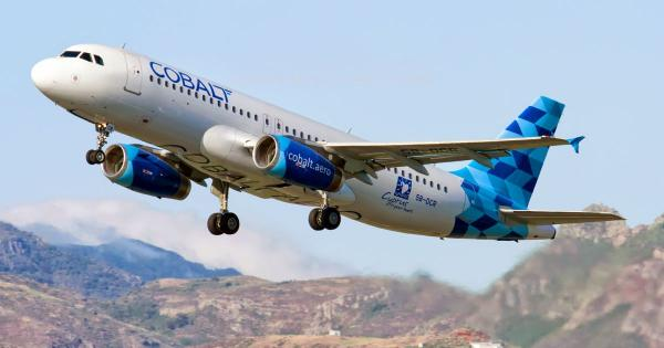Cobalt запустил рейсы из Пафоса в Шереметьево