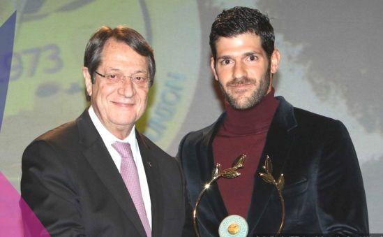 Контидис – «Спортсмен года» - Вестник Кипра