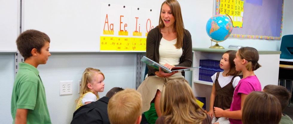 a class without a teacher