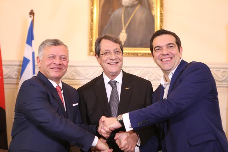 В Никосии проходят переговоры между делегациями Кипра, Греции и Иордании - Вестник Кипра
