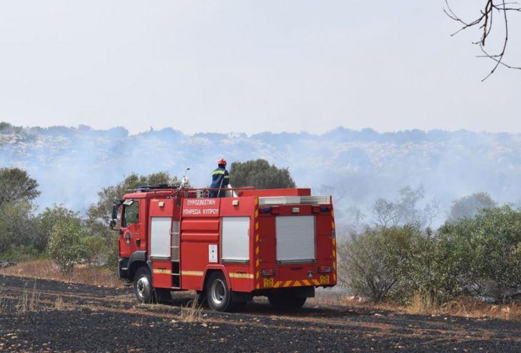 Пожар на Акамасе взят под контроль. Выжжено 70 гектаров леса