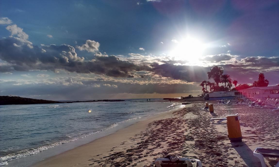 Зима приходит на Кипр