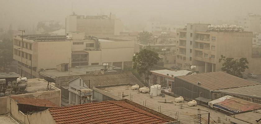 Пыль снова застелила Кипр | CypLIVE
