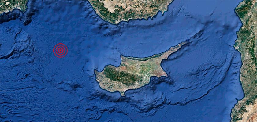 На северо-западе Кипра произошло землетрясение | CypLIVE