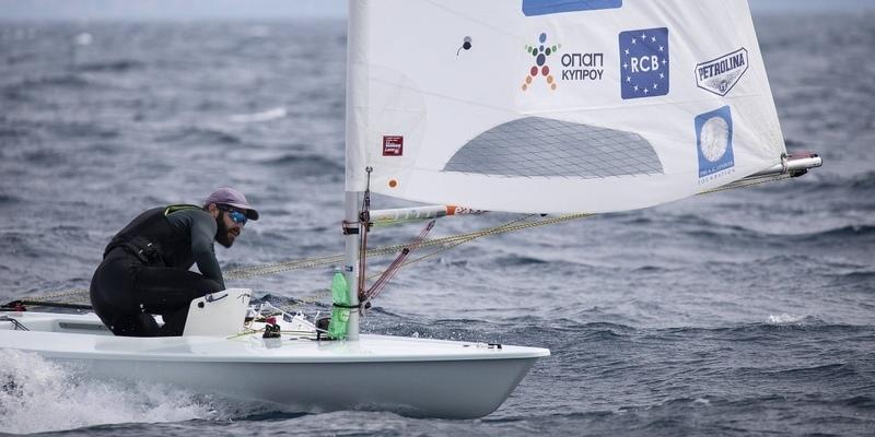 Кипрский яхтсмен Павлос Контидис завоевал очередную золотую медаль