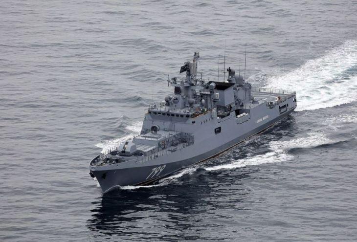 В Лимассол пришел «Адмирал Макаров»