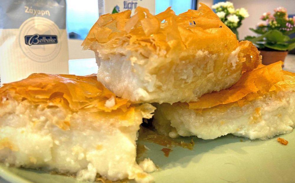 Готовим десерт галактобуреко дома - Вестник Кипра