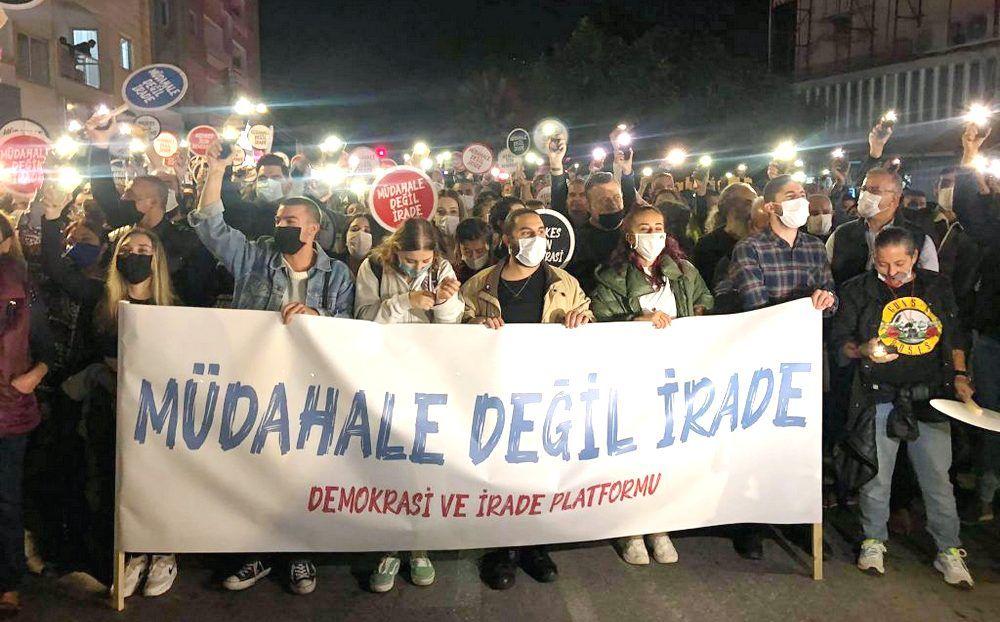 Турки-киприоты протестуют против действий Анкары - Вестник Кипра